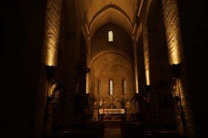Nef et Cheur Abbaye Sainte Marie d'Arles-sur-Tech