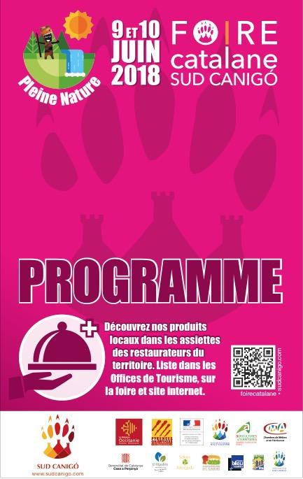 Programme Foire Catalane 2018