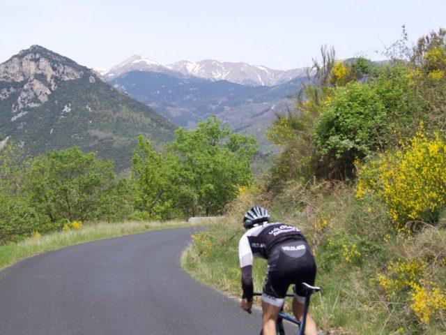 La route la plus au Sud de France, version Cyclo-sport