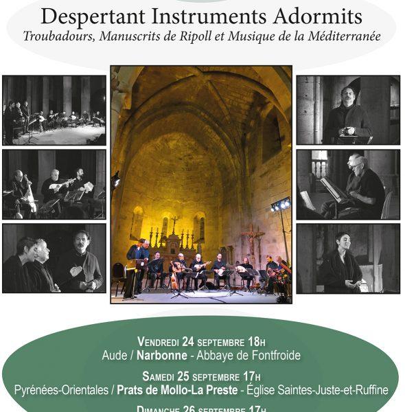 Festival «Les Troubadours chantent l'art roman en Occitanie»